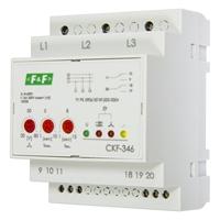 Реле контроля фаз Евроавтоматика F&F