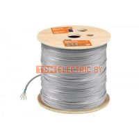 Кабель витая пара F/UTP Cat 6 4х2х23AWG (305м) solid, ПВХ, серый TDM. SQ0107-0104 TDM ELECTRIC