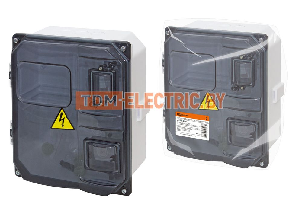 ЩУРН-П-1ф-5 (298х258х113) пластик IP55 TDM . TDM ELECTRIC